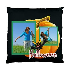 Happy Halloween By Wood Johnson   Standard Cushion Case (two Sides)   1j40zdfruomv   Www Artscow Com Back