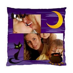 Happy Halloween By Wood Johnson   Standard Cushion Case (two Sides)   Tkit0np9l8z4   Www Artscow Com Back