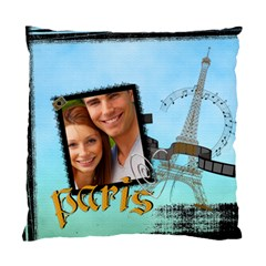 Travel Paris By Joely   Standard Cushion Case (two Sides)   Ukrto7endlfe   Www Artscow Com Back