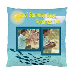 Summer By Joely   Standard Cushion Case (two Sides)   0n8vhpsopm34   Www Artscow Com Back
