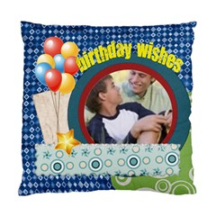 Birthday Wishe By Joely   Standard Cushion Case (two Sides)   0kpyrufzgzwv   Www Artscow Com Front