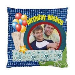 Birthday Wishe By Joely   Standard Cushion Case (two Sides)   0kpyrufzgzwv   Www Artscow Com Back