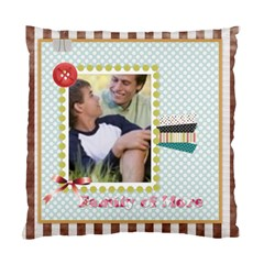 Family By Joely   Standard Cushion Case (two Sides)   G8yiq2c4r00n   Www Artscow Com Front