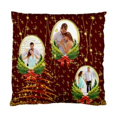 Christmas By Wood Johnson   Standard Cushion Case (two Sides)   Mxf4qfzzd0lz   Www Artscow Com Back