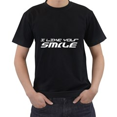 I Like Your Smile ( Black T Front