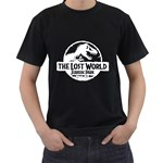 The Lost World Jurassic Park ( Black T-Shirt )
