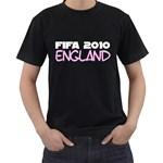 Fifa 2010 England ( Black T-Shirt )