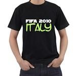 Fifa 2010 Italy ( Black T-Shirt )