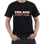 Fifa 2010 Portugal ( Black T-Shirt )