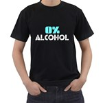 0% Alcohol ( Black T-Shirt )