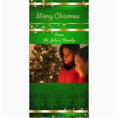 Merry Christmas 4x8 Photo Card 3 By Deborah   4  X 8  Photo Cards   Xflyfwk4hk10   Www Artscow Com 8 x4 Photo Card - 3