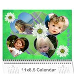 All Precious 2017 (any year) Calendar - Wall Calendar 11  x 8.5  (12-Months)