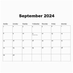 All Precious 2017 (any Year) Calendar By Deborah   Wall Calendar 11  X 8 5  (12 Months)   V3cb6xtiusdn   Www Artscow Com Sep 2017