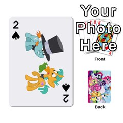 My Little Pony Friendship Is Magic Playing Card Deck By K Kaze   Playing Cards 54 Designs   D0bu8tndii26   Www Artscow Com Front - Spade2