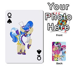 Queen My Little Pony Friendship Is Magic Playing Card Deck By K Kaze   Playing Cards 54 Designs   D0bu8tndii26   Www Artscow Com Front - SpadeQ