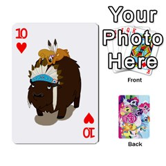 My Little Pony Friendship Is Magic Playing Card Deck By K Kaze   Playing Cards 54 Designs   D0bu8tndii26   Www Artscow Com Front - Heart10
