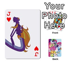 Jack My Little Pony Friendship Is Magic Playing Card Deck By K Kaze   Playing Cards 54 Designs   D0bu8tndii26   Www Artscow Com Front - HeartJ