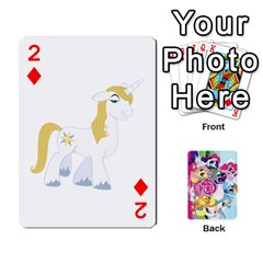 My Little Pony Friendship Is Magic Playing Card Deck By K Kaze   Playing Cards 54 Designs   D0bu8tndii26   Www Artscow Com Front - Diamond2
