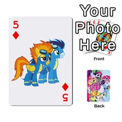 My Little Pony Friendship Is Magic Playing Card Deck By K Kaze   Playing Cards 54 Designs   D0bu8tndii26   Www Artscow Com Front - Diamond5