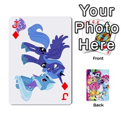 Jack My Little Pony Friendship Is Magic Playing Card Deck By K Kaze   Playing Cards 54 Designs   D0bu8tndii26   Www Artscow Com Front - DiamondJ