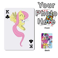 King My Little Pony Friendship Is Magic Playing Card Deck By K Kaze   Playing Cards 54 Designs   D0bu8tndii26   Www Artscow Com Front - ClubK