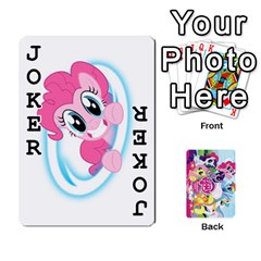 My Little Pony Friendship Is Magic Playing Card Deck By K Kaze   Playing Cards 54 Designs   D0bu8tndii26   Www Artscow Com Front - Joker1