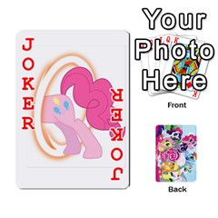 My Little Pony Friendship Is Magic Playing Card Deck By K Kaze   Playing Cards 54 Designs   D0bu8tndii26   Www Artscow Com Front - Joker2