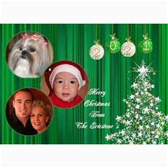 Christmas 2016 Photo Card 7x5 3 By Deborah   5  X 7  Photo Cards   A8s7llrimnor   Www Artscow Com 7 x5 Photo Card - 9