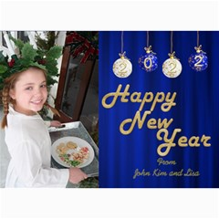 Happy New Year 2017 Photo Card 7x5 2 By Deborah   5  X 7  Photo Cards   6w9l5gu21cnk   Www Artscow Com 7 x5 Photo Card - 9