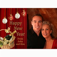 Happy New Year 2017 Photo Card 7x5 3 By Deborah   5  X 7  Photo Cards   Oa2w1qj99cml   Www Artscow Com 7 x5 Photo Card - 3