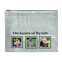 Loves Of My Life Bag By Patricia W   Cosmetic Bag (xl)   763xteygofpb   Www Artscow Com Front