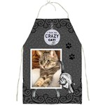 Crazy Cat Apron - Full Print Apron