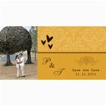Save the Date Cards- Minimalist - 4  x 8  Photo Cards