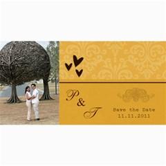 Save The Date Cards  Minimalist By Jennyl   4  X 8  Photo Cards   Vpjdz426idho   Www Artscow Com 8 x4 Photo Card - 4
