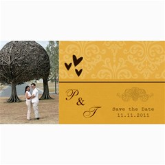 Save The Date Cards  Minimalist By Jennyl   4  X 8  Photo Cards   Vpjdz426idho   Www Artscow Com 8 x4 Photo Card - 5