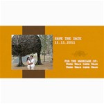 Save the Date Cards- Minimalist2 - 4  x 8  Photo Cards