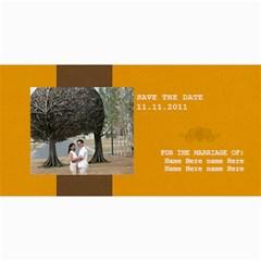 Save The Date Cards  Minimalist2 By Jennyl   4  X 8  Photo Cards   2n0sghqeuoel   Www Artscow Com 8 x4 Photo Card - 5