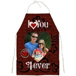 I Love You Apron - Full Print Apron