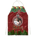 Happy Holidays Apron - Full Print Apron