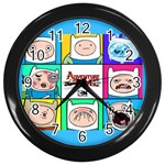 ATClock - Wall Clock (Black)