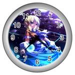 parsee - Wall Clock (Silver)