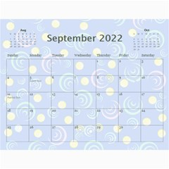 Kids Year Calendar 2015 By Kim Blair   Wall Calendar 11  X 8 5  (12 Months)   Qvred5mio5ey   Www Artscow Com Sep 2015