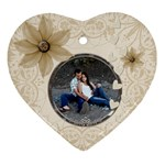Pretty Love Heart Ornament - Ornament (Heart)