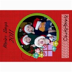 2011 Christmas Card 1 By Martha Meier   5  X 7  Photo Cards   Miqon3ss9216   Www Artscow Com 7 x5 Photo Card - 2