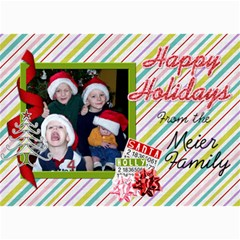 2011 Christmas Card 3 By Martha Meier   5  X 7  Photo Cards   W4ki1qtwpewv   Www Artscow Com 7 x5 Photo Card - 3