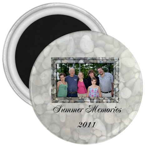 Summer Memories Magnet By Patricia W   3  Magnet   V7okctpvunx2   Www Artscow Com Front