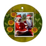 Ornament (Round) - Christmas3
