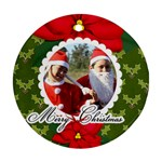 Ornament (Round) - Christmas4