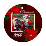 Ornament (Round) - Christmas5