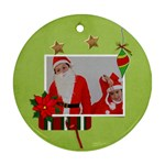 Ornament (Round) - Christmas9